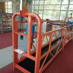 1.8KW 8KN ZLP 800 durable suspended working platform with steel rope 8.6mm diameter