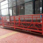 7.5m aluminum suspended rope platform 1000kg with single phase , gondola Platform