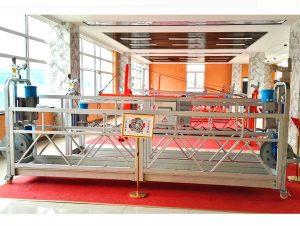 custom aluminum steel personnel hoist suspended working platform hanging scaffold systems