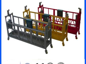 movable pin – type electrical suspended access platforms zlp800 single phase