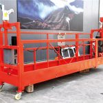 7.5M customized 800 Kg suspended platforms for building cleaning , pin – type
