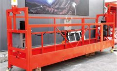 7.5M Customized 800 Kg Suspended Platforms For Building Cleaning , Pin - Type