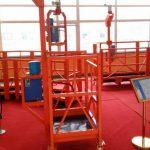 suspended Mast Climbing Work Platform 630kg Window Cleaning Gondola