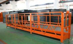 Hot Galvanized Rope Suspended Platform , High Rise Building Suspended Gondola