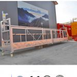 CE/ISO-approved ZLP electric construction/ building/ external wall suspended platform/ cradle/ gondola/ swing stage/ sky climbe
