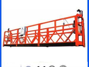 low price powder coated zlp 630/800/1000 suspended platform