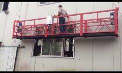 Window Cleaning Machine, suspended platform, gondola scaffolding