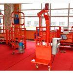 ZLP 630 rope suspended platform gondola system