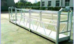 ZLP630 aluminium alloysteel electric lift suspend platform suspension work platform