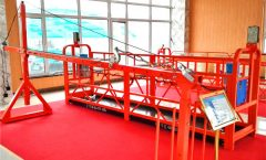 construction cradle zlp630 suspended working platform used for window cleaning