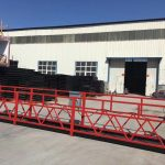 good price suspended platform/suspended gondola/suspended cradle/suspended scaffolding with CE AND ISO certificate