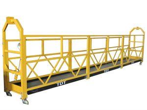 safety lock for suspended platform rope suspended platform